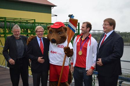 E.ON Hanse Cup 2012 holt die besten Sportler direkt aus London auf den Kanal