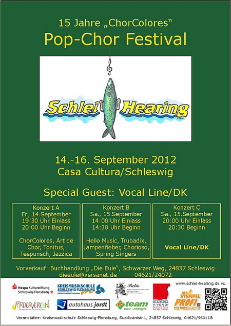 "Pop-Chor-Festival ""Schlei-Hearing"" in der Casa Cultura"