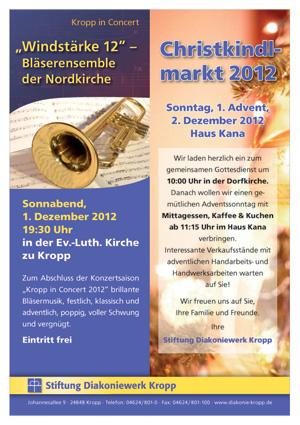 Kropp in concert: Windstärke 12 in der Kropper Kirche