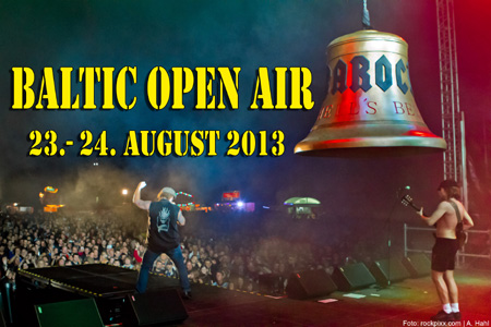 BALTIC OPEN AIR 2013 –  die ersten 10 Bands bestätigt!