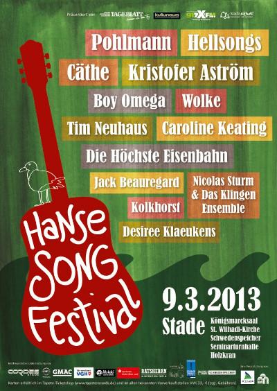 Bands für das 2. Hanse Song Festival in Stade komplett
