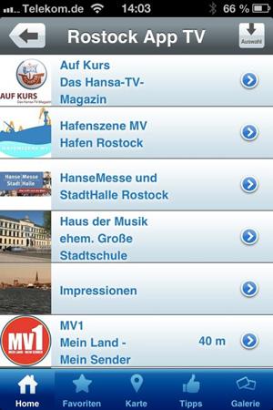 Jetzt gibt es die Rostock-App auch für Smartphone-Besitzer