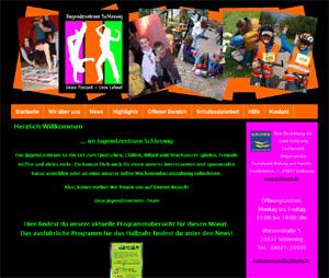 Neue Internetseite für das Jugendzentrum Schleswig