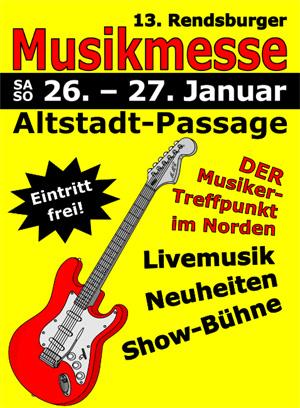 Musikmesse Rendsburg – die Größte in Schleswig-Holstein