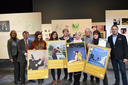 Jugendliche aus Lübecks Oberstufen entwerfen Plakat für Lustspiel
