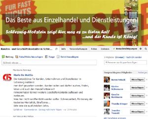 Die Facebook-Kontaktbörsen für Kunden und Unternehmen in Schleswig-Holstein