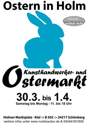 Ostermarkt in Holm bei Schönberg zeigt vielfältiges Kunsthandwerk