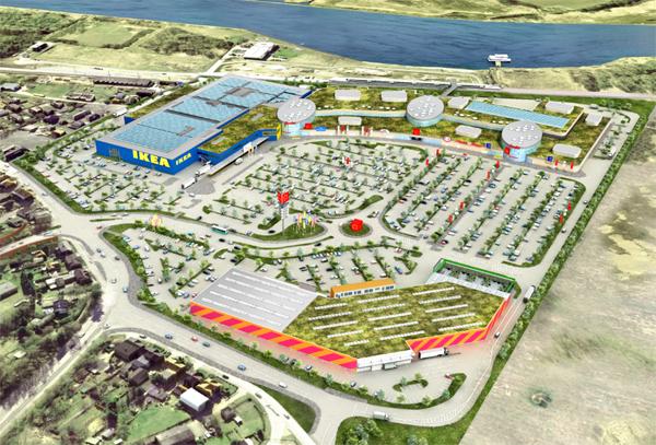 Es geht los: Grundsteinlegung für IKEA Lübeck – Baut sehr Ernergiesparend