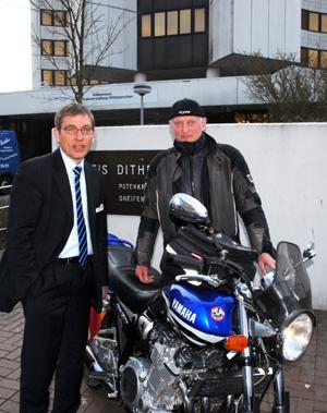 Sicherheitstraining für Zweiradfahrer im Kreis Dithmarschen