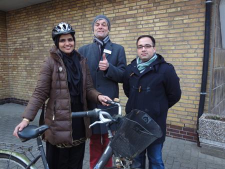 Heide – Rizwan Khan wirbt für Integration auf zwei Rädern