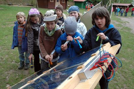 Energieaktionstage für die ganze Familie im Wildpark Eekholt