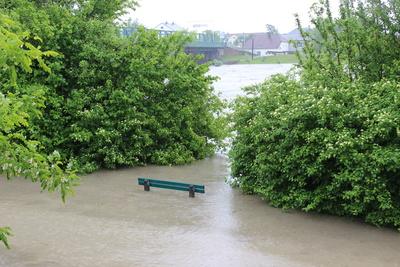 Aktuelle Hochwassersituation in Schleswig-Holstein