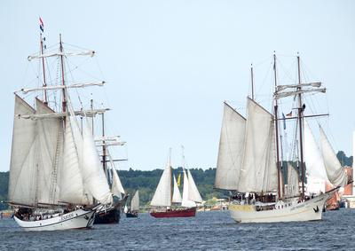 Eine Million Besucher erwartet bei der 23. Hanse Sail Rostock