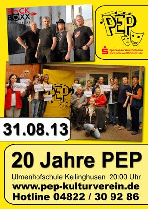 PEP in Kellinghusen feiert 20 Jahre Vereinsgeschichte mit RockBoxx