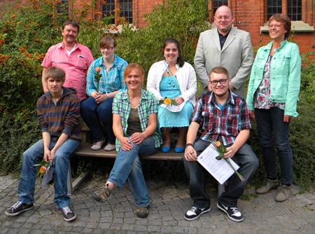 Erfolgreicher Abschluss für Auszubildende im JAW Lübeck