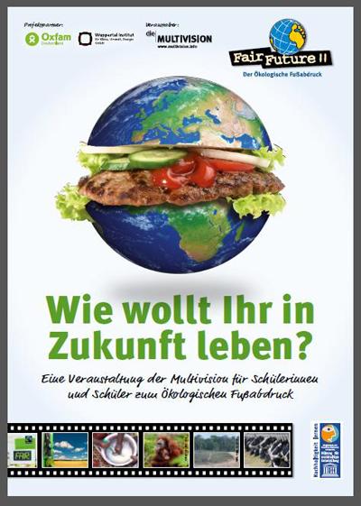 """Multivision """"Fair Future II – der Ökologische Fußabdruck"""" zu Gast in Meldorf"""