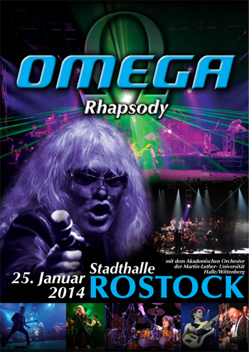 Abschlusskonzert der OMEGA-Rhapsody-Tour  in der Rostocker Stadthalle