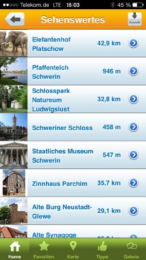 Mecklenburg-Schwerin erobert das SmartPhone mit einer eigenen App
