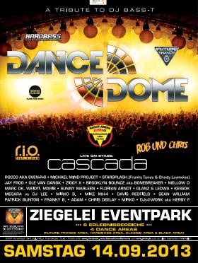 """DANCE DOME in der Ziegelei Groß Weeden """"A Tribute to DJ Bass-T"""""""