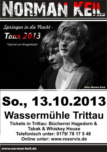 Live in Trittau – NORMAN KEIL – Springen in die Nacht-Tour