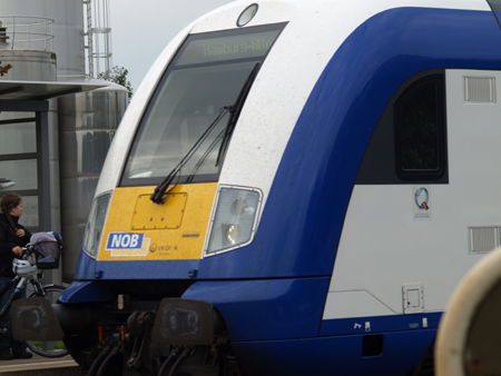Auch morgen, Mittwoch noch Notfallfahrplan bei der Nordostseebahn NOB