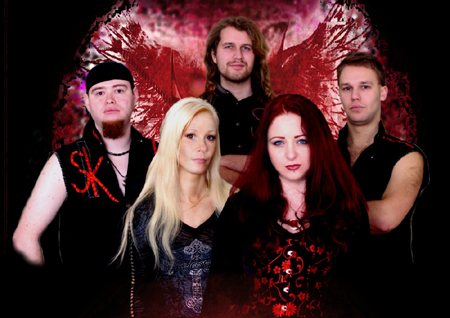 Gothic-Band Spiegelkeller live im Lübecker 99-Starclub