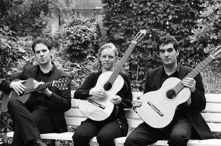 Ein Saitenfest! Gitarren-Trio Armonico live in Stellau bei Wrist