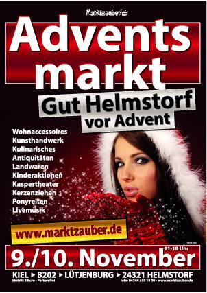 Früher Adventsmarkt: Gut Helmstorf vor Advent mit vielen winterlichen Überraschungen
