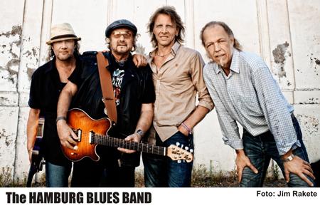 Hamburg Blues Band mit Freunden & Weggefährten in der Ulmenhofschule Kellinghusen
