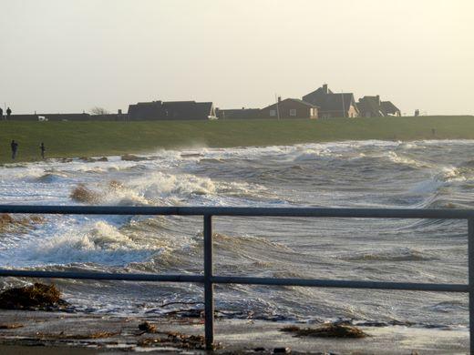 Schleswig-Holstein hat Sturmflut gut überstanden