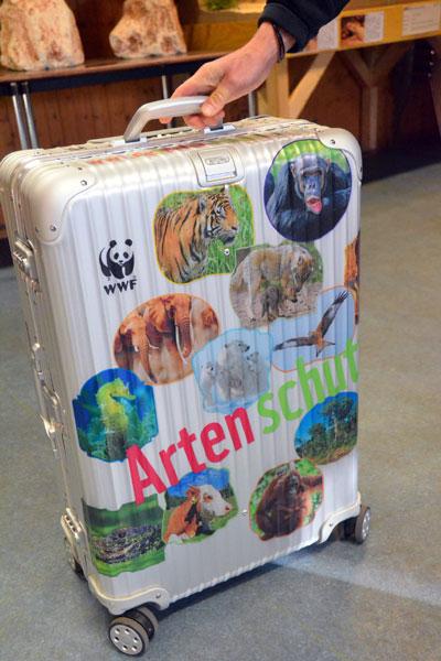 Wildpark Eekholt erhält den neuen WWF-Artenschutzkoffer