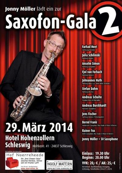 Saxophon-Gala Nr. 2 im Hotel Hohenzollern Schleswig