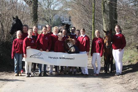 8. Landeswettkampf der Holsteiner Jungzüchter in Güderott
