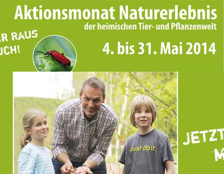 """Neumünster – Bundesweiter Aktionsmonat """"Naturerlebnis"""" mit Veranstaltungen auch in Neumünster"""