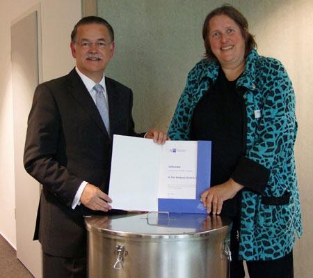 Pohl-Boskamp für Weiterbildungsaktivitäten ausgezeichnet