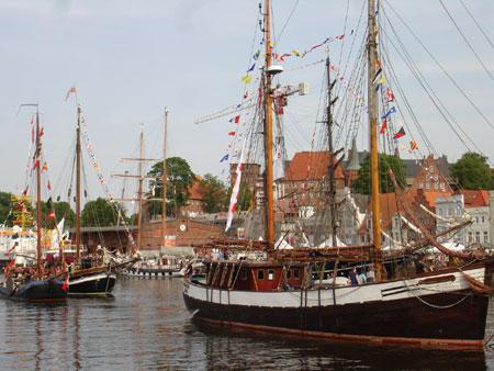400.000 Besucher beim Hansetag in Lübeck