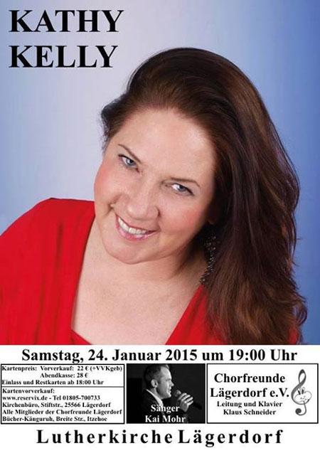 Kathy Kelly 2015 wieder live in Lägerdorf bei Itzehoe
