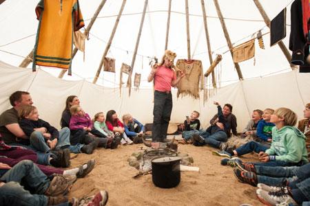 Jugendherberge Bad Segeberg lädt zum Indianertag