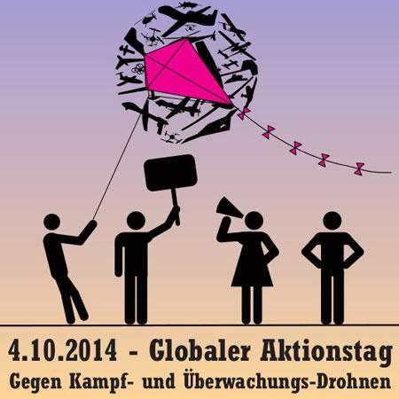 ANTI DROHNEN TAG am 04.10. ab 11 Uhr in Schleswig- Aktion