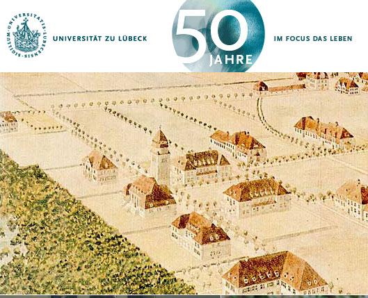 Die Universität zu Lübeck wird 50: Feiern Sie mit