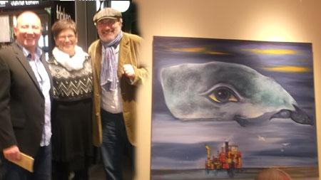 """Der Maler Ole West zeigt in Eutin """"querbeet"""""""
