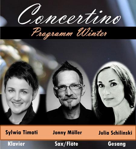 """Saxofonist Jonny Möller tourt mit dem Concertino Programm """"Winter"""" durch den Norden"""