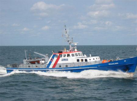 Neues Boot für die Wasserschutzpolizei in Büsum übergeben