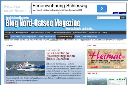 Nord-Ostsee Magazine mit neuen Schwerpunkten: Kreise Steinburg, Dithmarschen u.a.