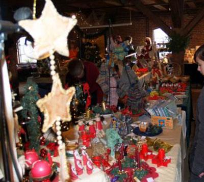 Der Weihnachtsmarkt 2014 im Dithmarscher Landesmuseum