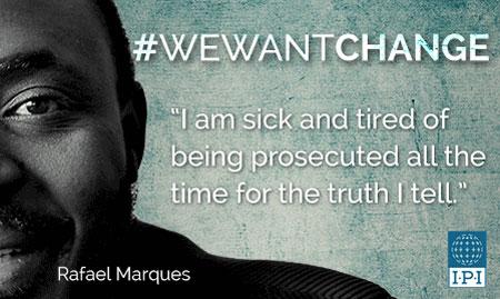"""Journalistenzentrum Deutschland unterstützt """"We want Change"""" Kampagne bei der Förderung der Pressefreiheit"""