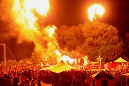 Mittelalterfestival Spectaculum in Basthorst