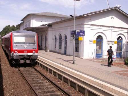 Eutin: Erster Spatenstich am Bahnhofsvorplatz