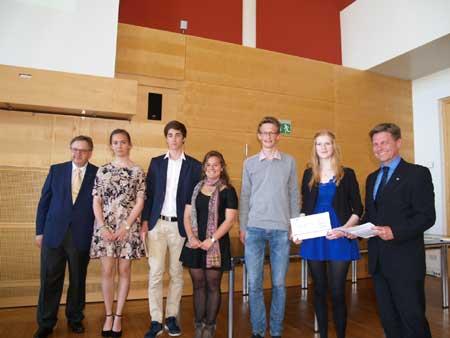 Schülerwettbewerb zum Thema 2. Weltkrieg – Die Preisverleihung