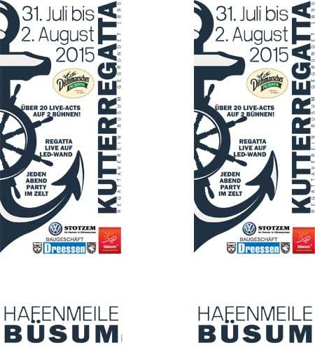 112. Büsumer Kutterregatta-Tage vom 31. Juli bis 02. August 2015
